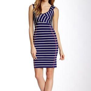 Jessica Simpson Bodycon Striped Dress Size Small